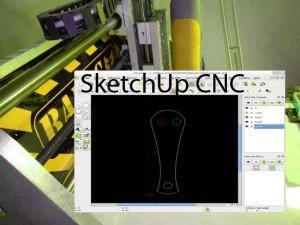 SketchUp avec une CNC