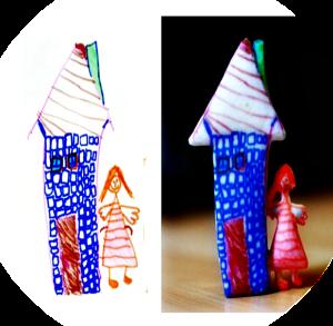 Transformer les dessins des enfants en objets 3D impression 3d et les 10 objets incroyables réalisés