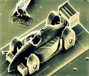 Une voiture de course microscopique impression 3d et les 10 objets incroyables réalisés