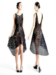 Une robe imprimée en 3D impression 3d et les 10 objets incroyables réalisés