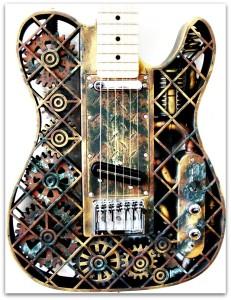 impression 3d et les 10 objets incroyables réalisés Une guitare imprimée en 3D
