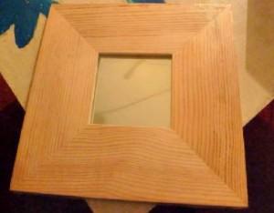 cadre moroir en bois